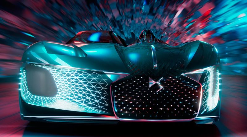 Dream Car DS X E-TENSE: quando il futuro non ha limiti
